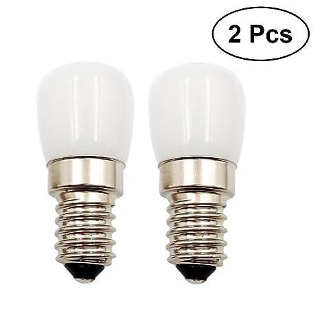 LEDMOMO Bombillas LED, 1.5W 80 lúmenes 220V 2700-3000K E14 bombillas pequeñas bombillas