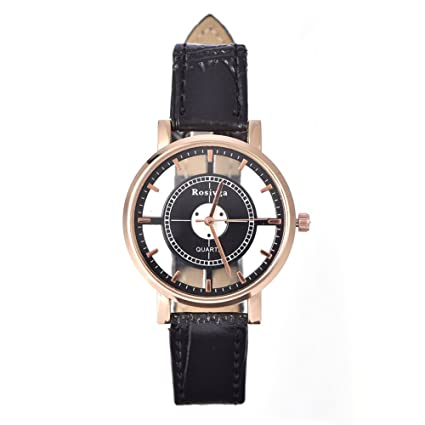 Reloj de Pulsera de Joyería Unisex 3 Colores Relojes de Pulsera de Cuarzo Analógico de Moda