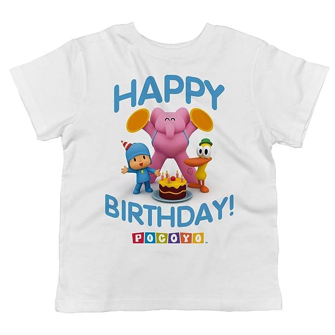Amazon.com: Tronco Candy Pocoyo – ¡Feliz cumpleaños. playera ...