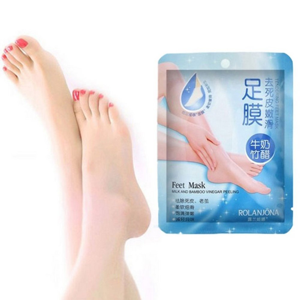 Amazon: Garyob 3 Pairs Baby Foot Peeling Renewal Foot Mask Remove Dead  Skin Smooth Exfoliating Socks Foot Care Socks For Pedicure: Health &  Personal