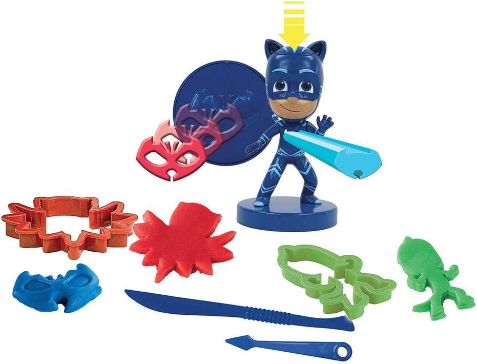 Grandi Giochi GG76152 - PJ Masks Gattoboy amuleto de pasta de modelar, multicolor , color/modelo surtido