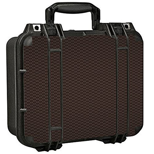 Skin Decal Vinyl Wrap for Pelican 1400 Case stickers skins cover / Blue Grey Checkers