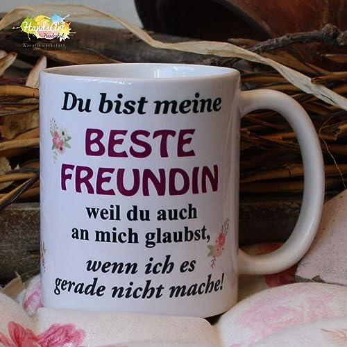 Kaffeebecher ~ Tasse - Du bist meine beste Freundin ~ Freundschaft ...