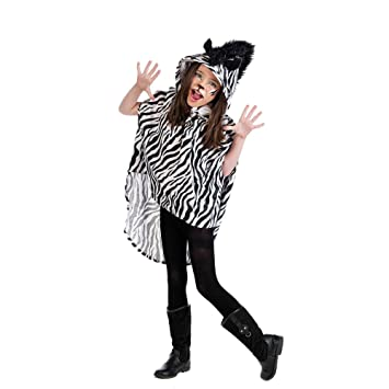 Limit Sport- Poncho Cebra, disfraz infantil, 2 (MI931 2): Amazon ...