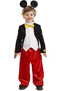Disfraz 5489W12 Mickey Mouse Infant Toddler Costume: Amazon.es ...
