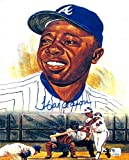 Hank Aaron Atlanta Braves Autographed Signed 8x10 Photo - COA - Mint Condition