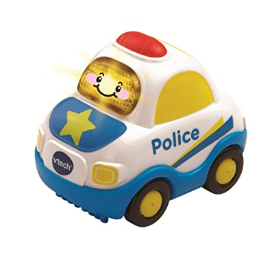 VTech Go! Go! Smart Wheels Police Car, styles may vary: Toys & Games
