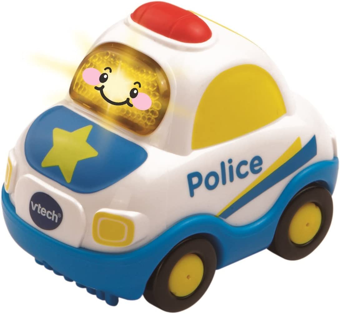 VTech Go! Go! Smart Wheels Police Car, styles may vary