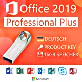 MPOWER® Office 2019 Professional Plus ISO auf 16GB USB für 32 / 64 bit mit orig. Lizenzschlüssel
