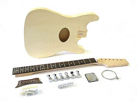 Kit Guitarra Eléctrica ml-factory ml-coustic with EQ and Pickup ...