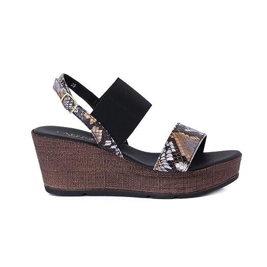 Sandalo Con Zeppa - HH810