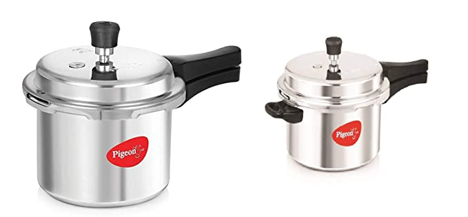 Stovekraft Pigeon Value Combi Pack Pressure Cooker  3 and 5 L