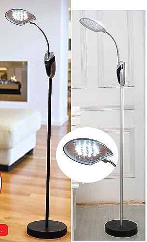 new styles c05ec 09465 16 LED CORDLESS FREE FLOOR STANDING ANYWHERE LIGHT LAMP