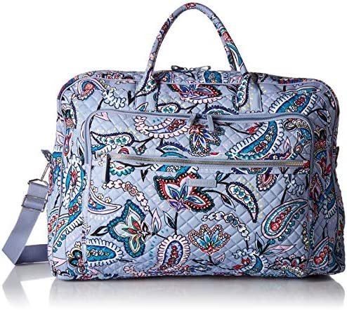 Vera Bradley Women s Signature Cotton Grand Weekender Travel Bag