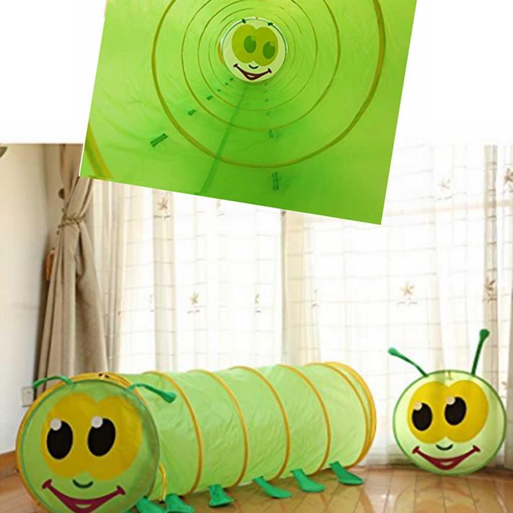 Bodbii B/éb/é Enfants Enfants Intelligence /éducation Tunnel Caterpillar Tente Underpass Crawl Jouet Formation sensorielle