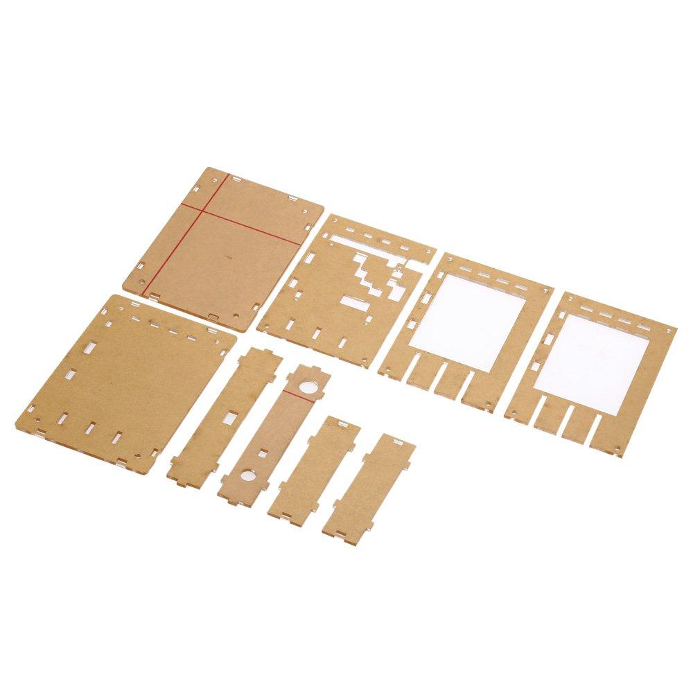 KKmoon DIY Cubierta /& C/áscara acr/ílica para DSO138 osciloscopio