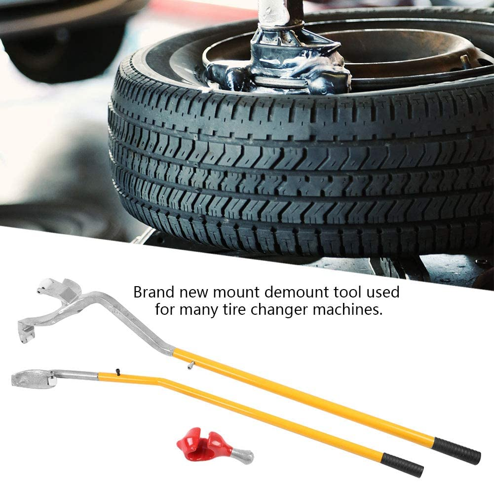 Manual Tire Changer Bead Breaker Iron Mount Demount Tubeless Car Truck Semi Bus