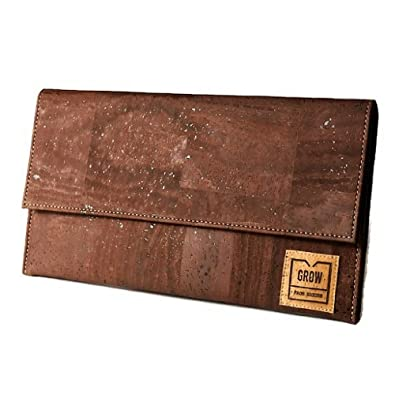 24cd075fbd7 Ladies Clutch Bag, Evening Cork bags, Vegan Leather, Vegan Product, eco bag,  gift bags, handmade bags, green Product, Kork, Liege, cork: Handbags:  Amazon. ...