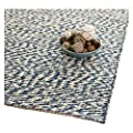 Safavieh Natural Fiber Collection NF448A Double Weave Grey Sisal Area Rug (5' x 8')