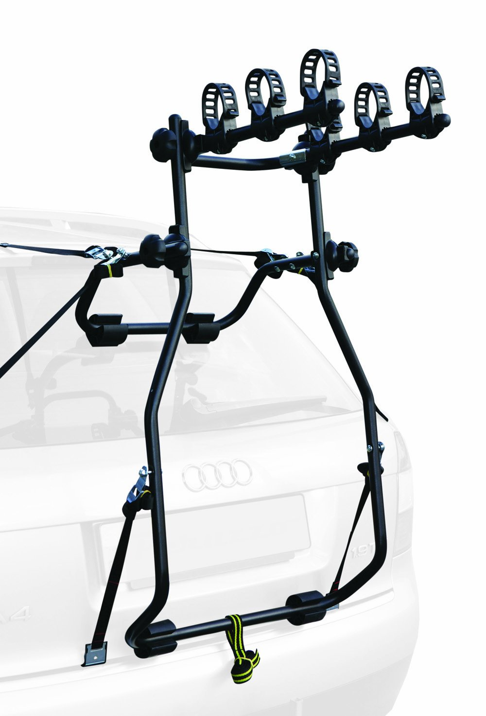 bicycle over carrier hollywood racks bike mount baja cycle rack grey car itm spoiler