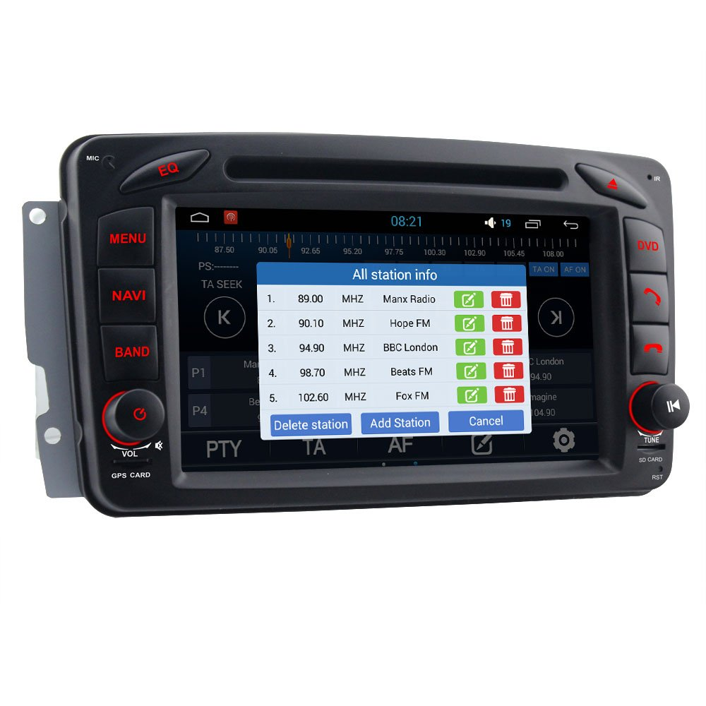 A Sure 7 'Android 5 1 1 3G DAB + Car Radio Mirror Link WiFi