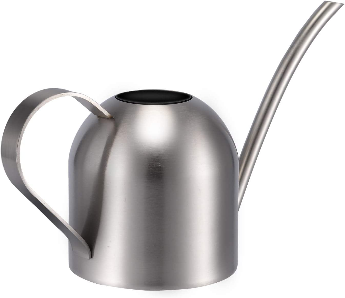 1500ml//53oz Gold Ridering Stainless Steel Watering Can,Resistant Scratches Metal Watering Pot with Long Spout for Outdoor and Indoor House Plants