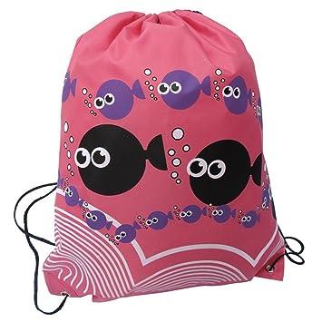 Amazon.com: Po Lyle Drawstring Bags Unisex Swim – Mochila ...