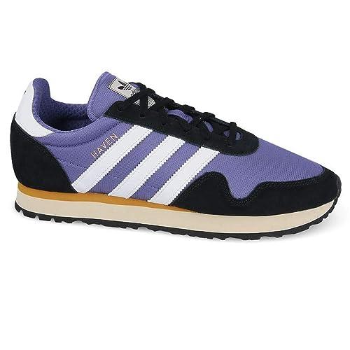 1d1766f5600d adidas Originals Haven Mens Trainers BY9720 Black Purple  Amazon.co.uk   Shoes   Bags