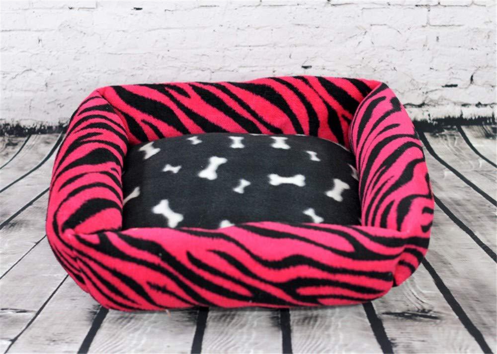 varie dimensioni Boymlx Velluto di di di Corallo Quadrato, L, Rosso Cuccia Letto per Animali Gatto domesticicani Cane Gatti Cuccia con per casa Sacco a Pelo Cuscino Cuscini Cani Stagioni universali  negozio all'ingrosso
