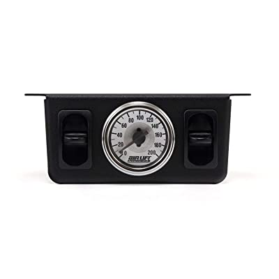 AIR LIFT 26229 200-psi Dual Needle Air Gauge: Automotive