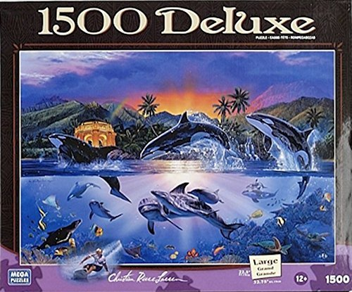 Orca's World 1500 Deluxe Christian Riese Lassen Jigsaw Puzzle