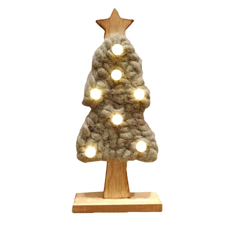 Christmas Home Decor 2019.Amazon Com Led Felt Christmas Tree 2019 Year Xmas Decor