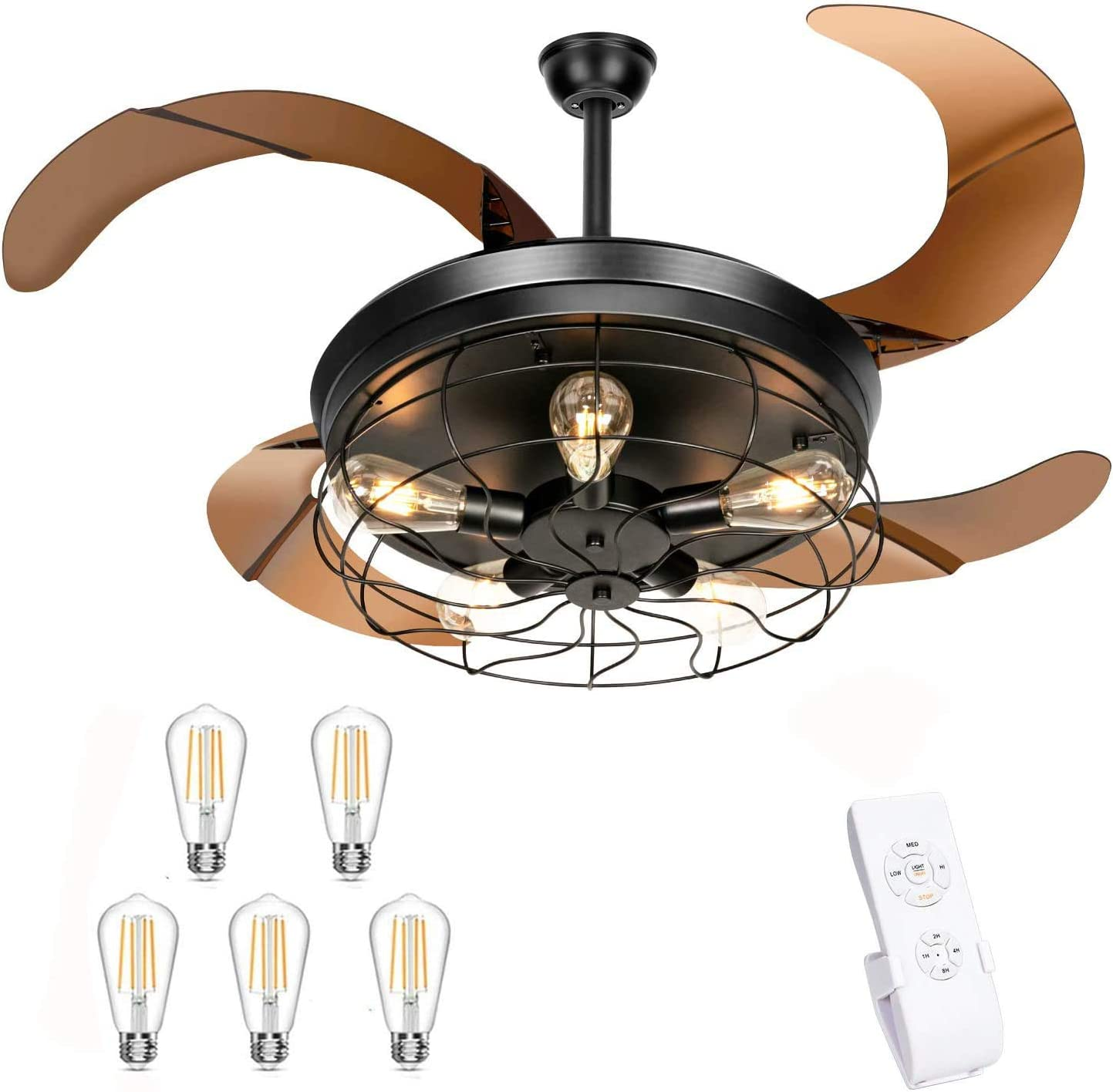Industrial Retractable Ceiling Fan