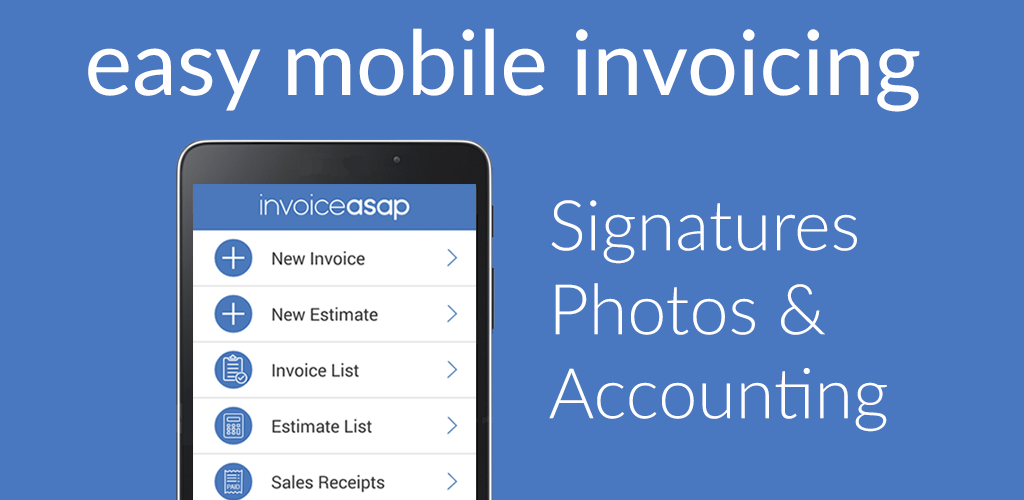 Invoice ASAP For QuickBooks And Payments Amazoncomau Appstore - Invoice asap