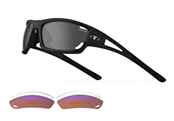 f9002bc823 Tifosi Unisex Adult Dolomite 2.0 Interchangeable Smoke Lens Sunglasses -  Smoke Lens