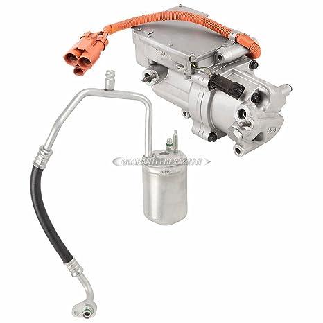 Original OEM nueva AC Compresor y embrague con a/c secador para Ford Mazda y