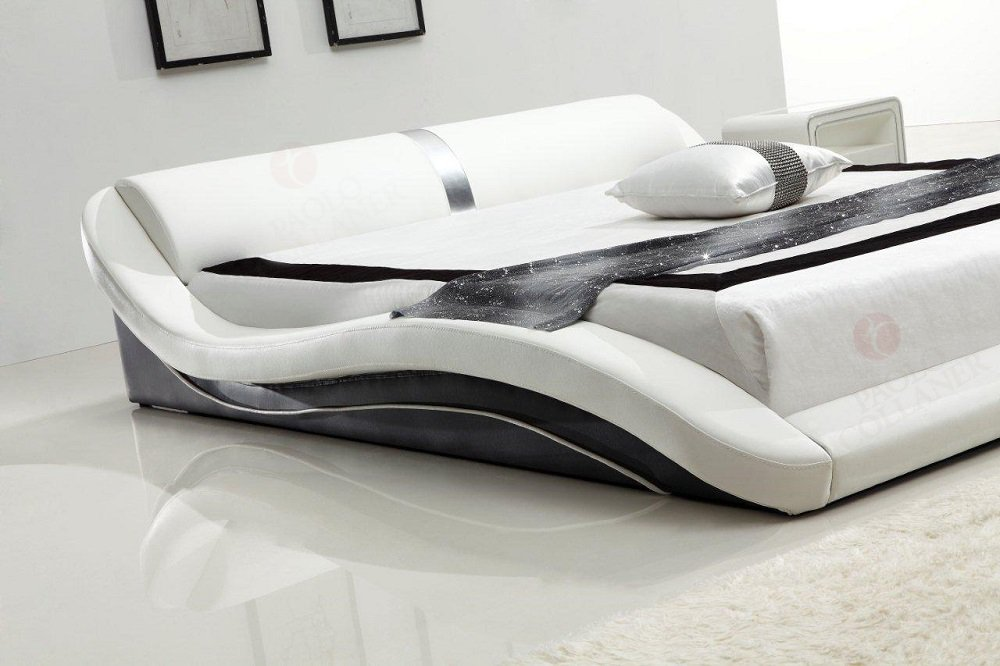 Polsterbett 180x200 cm Toni Schwarz-Wei/ß #68 i-flair/®