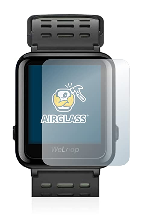 BROTECT Protector Pantalla Cristal para Xiaomi WeLoop Hey 3S Cristal Vidrio Glass Screen Protector: Amazon.es: Electrónica