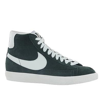 Nike Blazer Mid Premium Vintage Green Suede Mens Trainers Size 8 UK