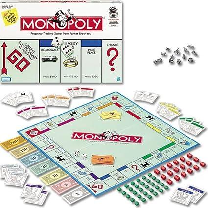 Hasbro Monopoly (español Normas): Amazon.es: Juguetes y juegos
