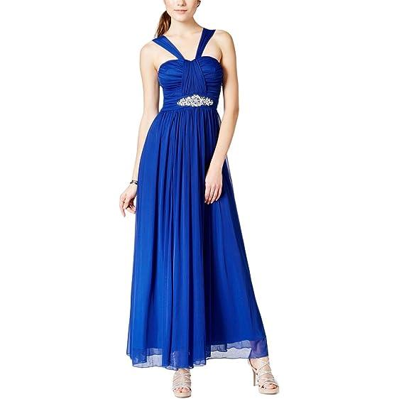 Amazon.com: B. Darlin Womens Juniors Strapless Prom Formal Dress ...