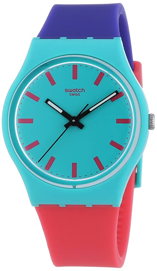 Amazon.com: Swatch Unisex GG215 Shunbukin Analog Display Quartz Multi-Color Watch: Watches