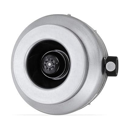 Klimapartner RV 250 Basic - Extractor Ventilador de Aire en Línea Conducto Axial Ventilación 1030 m³