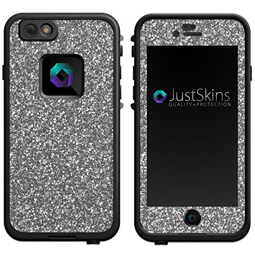 Silver Static Skin Decal for iPhone 6 Lifeproof Case Design (Case not included)