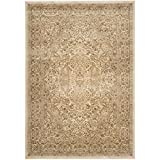 Cheap Safavieh Paradise Collection PAR169-3444 Stone and Cream Viscose Area Rug (8′ x 11'2″)