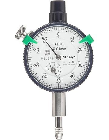Mitutoyo 1044SB serie 1 compacto Dial Indicador, métricas, FLAT-BACK, 5 mm