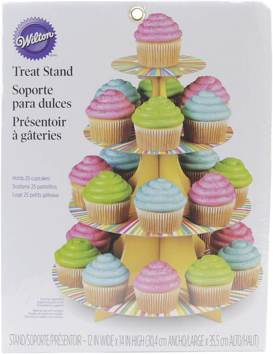 Wilton Treat Stand Color Wheel Cupcake Stand