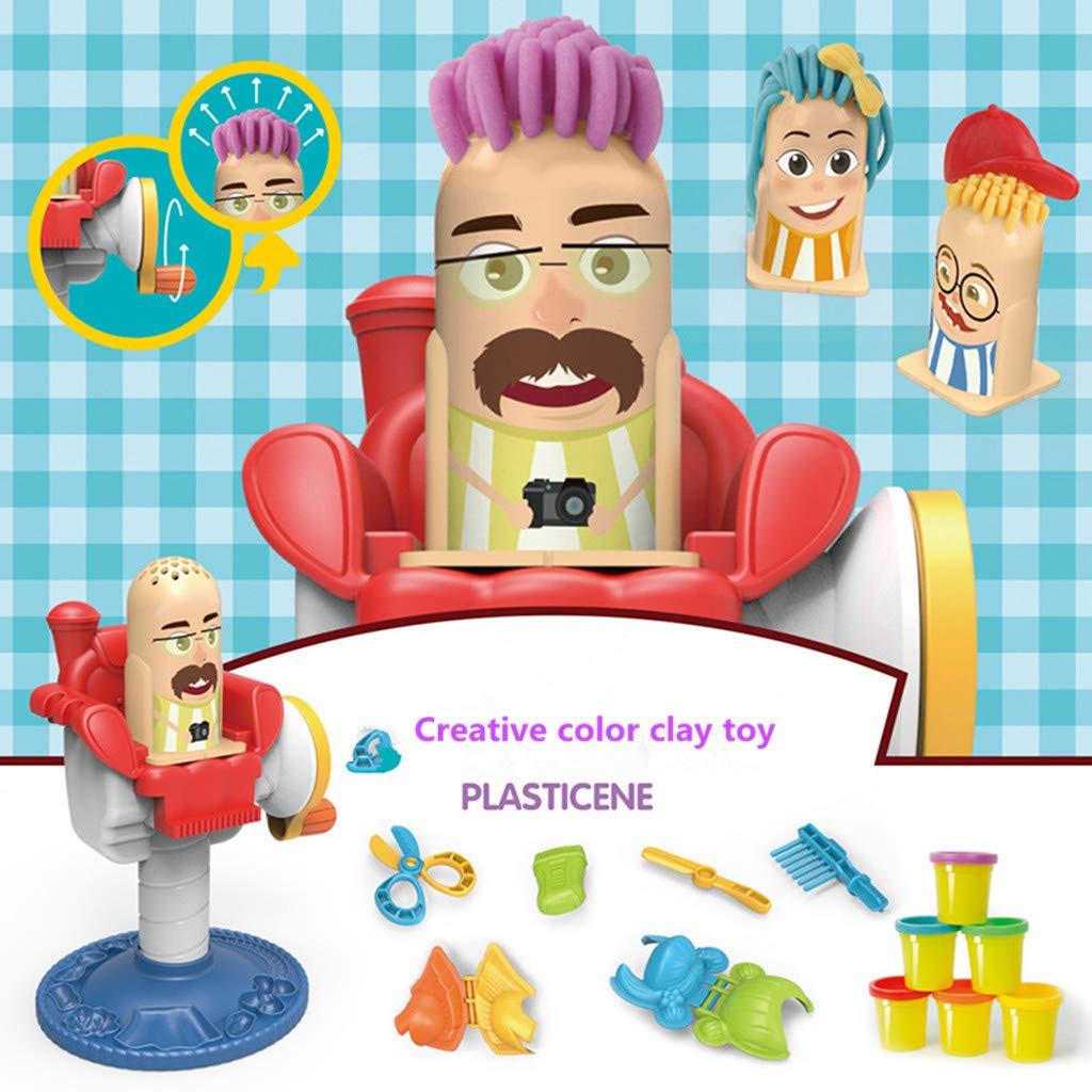 Amazon.com: LtrottedJ DIY Dough Hairdressing Play Craft Gift Set Children Girl Toys Xmas Gift: Toys & Games