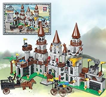 brictek tower warfare castle fortress building set by 16501 amazon