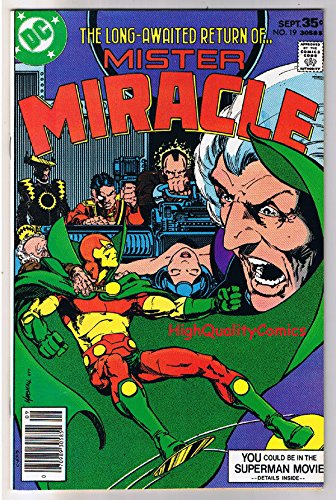 MISTER MIRACLE #19, VF, Return of Mr Miracle , 1971, more JK in store